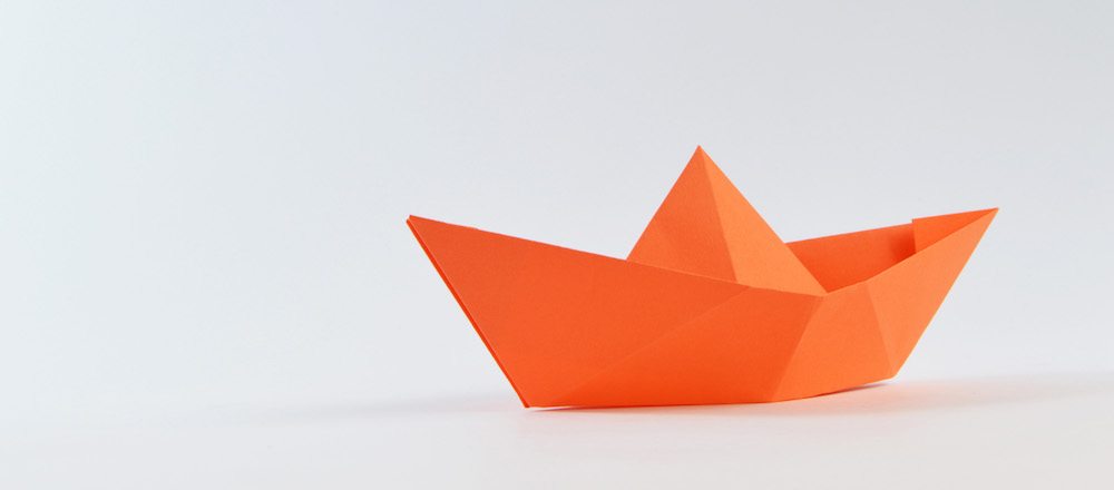 Migrating to jekyll paper sailboat image